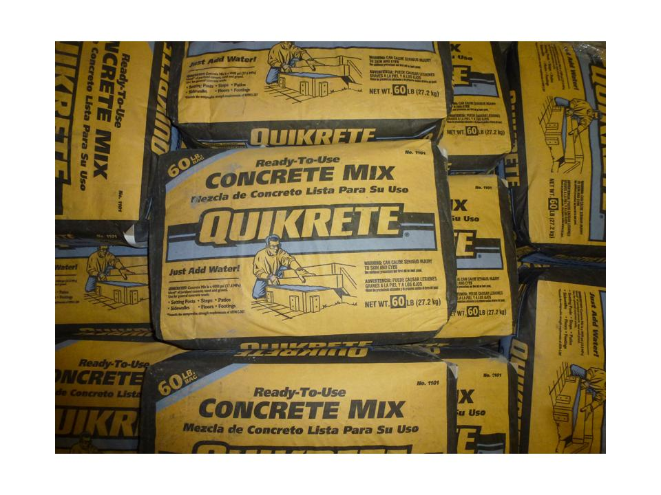 Concrete Mix 60# bags