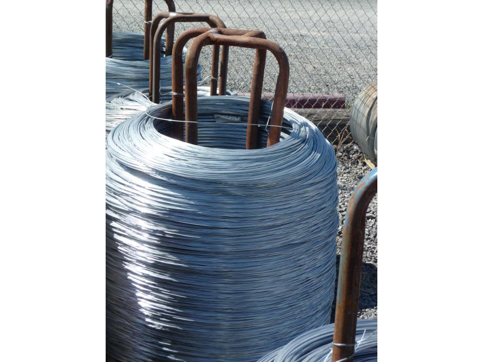Galvanized Class 1 Hi Ten Continuous Stand Wire