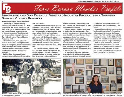 Farm Bureau Member Profile
